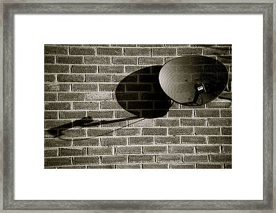 No More Bare Walls Framed Print by Jez C Self