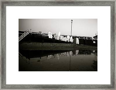 No More Til Dawn Framed Print by Jez C Self