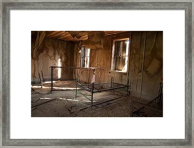 Framed Print featuring the photograph No More Time To Sleep by Fran Riley