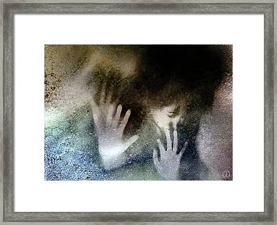 No No Framed Print by Gun Legler
