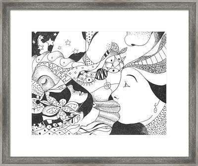 No Ordinary Dream Framed Print by Helena Tiainen