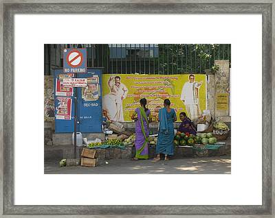 Framed Print featuring the photograph No Parking by David Pantuso