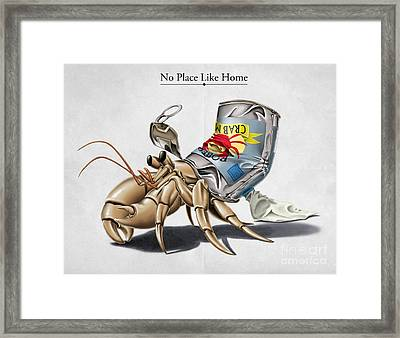 No Place Like Home Framed Print by Rob Snow