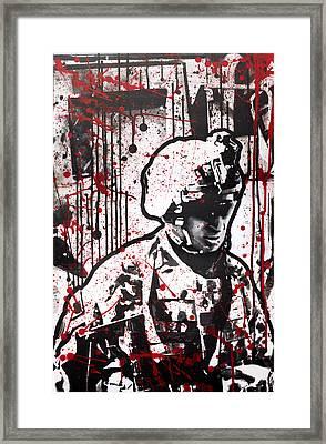 No Slack Framed Print by Michael Figueroa