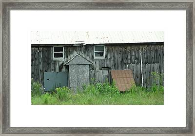 No Smile Framed Print