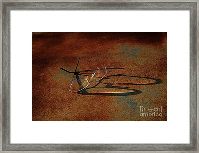 No Time To Reflect Framed Print by The Stone Age