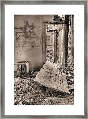 No Way Out Framed Print by JC Findley