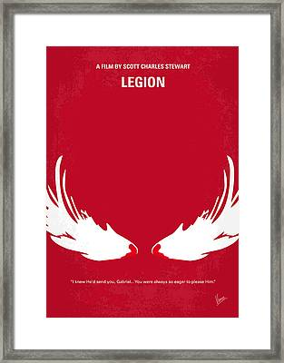 No050 My Legion Minimal Movie Poster Framed Print by Chungkong Art