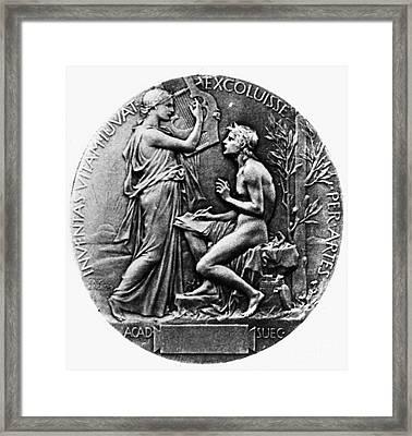 Nobel Prize: Literature Framed Print by Granger