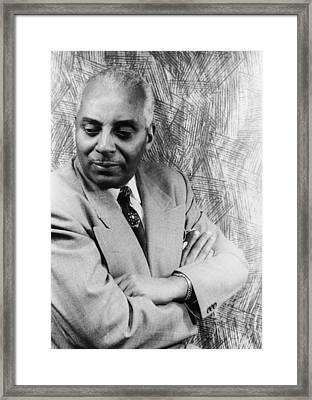 Noble Sissle 1889-1975, American Jazz Framed Print by Everett