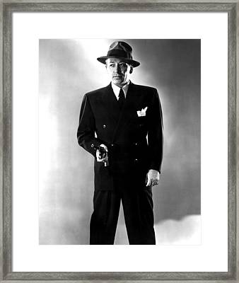 Nocturne, George Raft, 1946 Framed Print by Everett