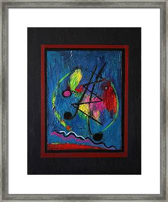 Noise Framed Print by Karin Eisermann
