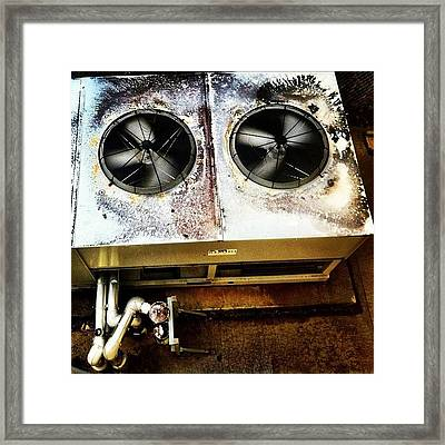 #noise On #film Part Framed Print