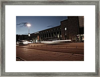 Non Stop Framed Print by Gabriel Calahorra