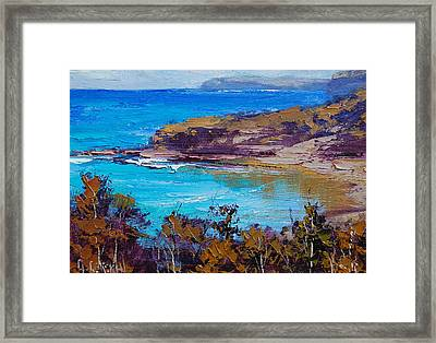 Norah Head Central Coast Nsw Framed Print