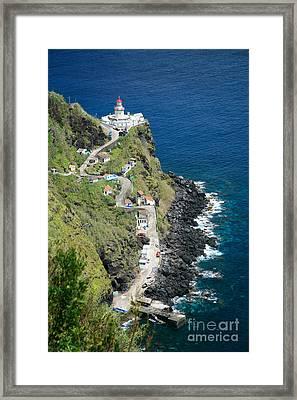 Nordeste Lighthouse - Azores Framed Print