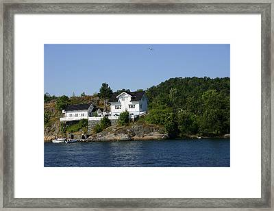 Nordic Home Framed Print by Nina Fosdick