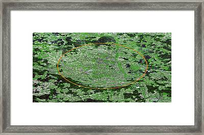 Nordlinger Ries Crater, Germany Framed Print