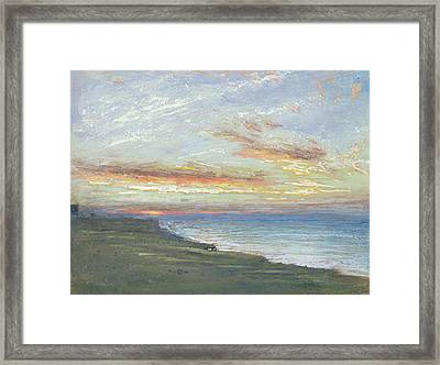 Norfolk Coast Framed Print
