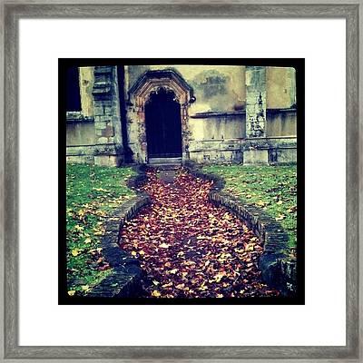 #norfolk #uk #kingslynn #iphone3 Framed Print