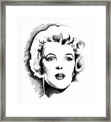 Norma Jean Framed Print