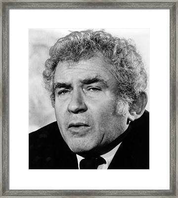Norman Mailer, Early 1980s Framed Print