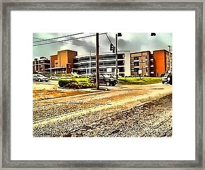 North Arkansas Regional Medical Center Framed Print by Kathy Tarochione