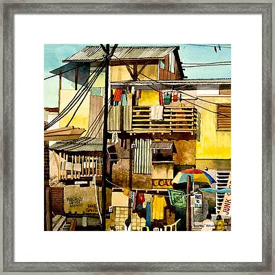 North Bay Squatters Framed Print by Andre Salvador