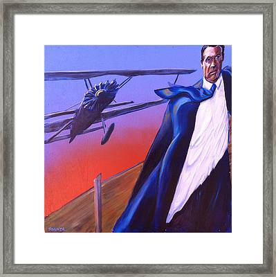 North By Northwest Framed Print by Buffalo Bonker