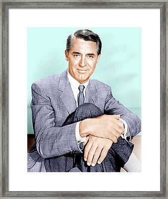 North By Northwest, Cary Grant, 1959 Framed Print by Everett