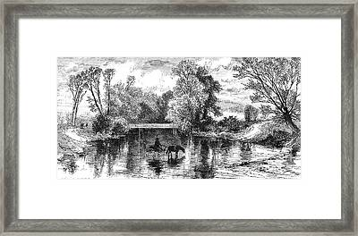 North Carolina: Asheville Framed Print by Granger