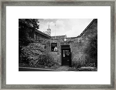 North Down Museum And Heritage Centre In Bangor Castle Now The Town Hall Framed Print by Joe Fox