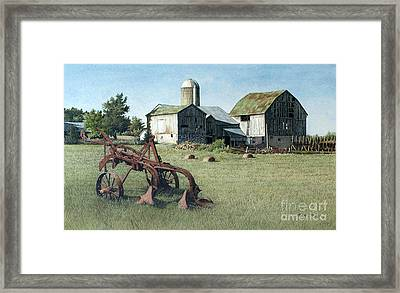North Of Uxbridge Framed Print