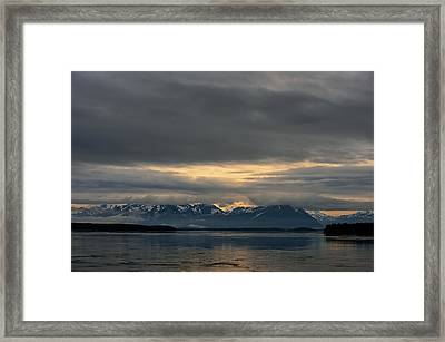 North Pacific Framed Print