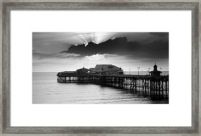 North Pier Framed Print by Aetherial Pictography