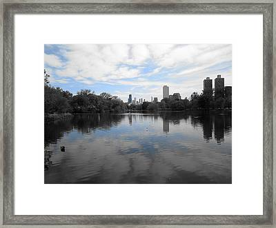 North Pond Framed Print