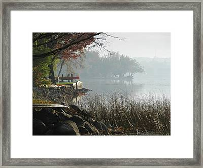 North Shore Framed Print by Dennis Leatherman