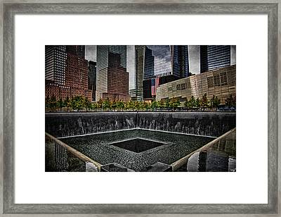 North Tower Memorial Framed Print by Chris Lord