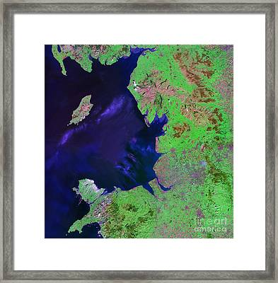 North West England Framed Print by NASA / Science Source