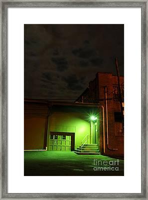 Northampton At Night Framed Print
