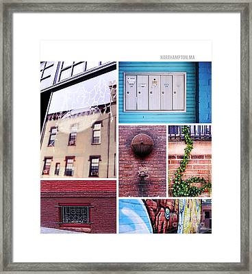 Northampton Ma Framed Print by HD Connelly