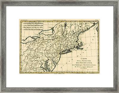 Northeast Coast Of America Framed Print by Guillaume Raynal