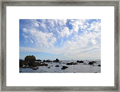 Northern California Coast1 Framed Print by Zawhaus Photography