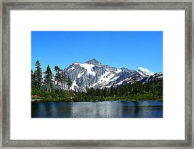 Northern Cascades Framed Print