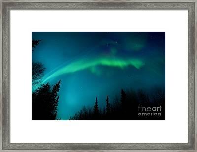 Northern Magic Framed Print