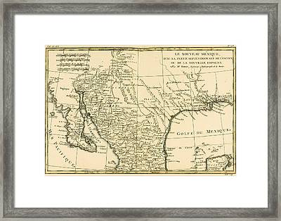 Northern Mexico Framed Print by Guillaume Raynal