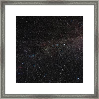 Northern Milky Way Framed Print by Eckhard Slawik