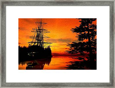 Northwest Anchorage Framed Print