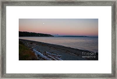 Northwest Evening Framed Print