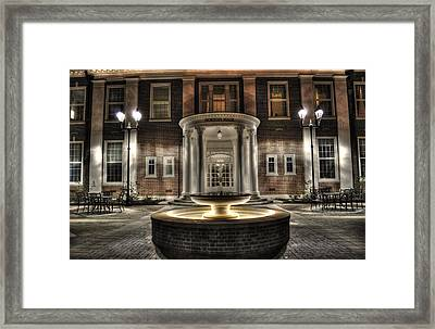 Norton Hall Southern Baptist Theological Seminary Framed Print